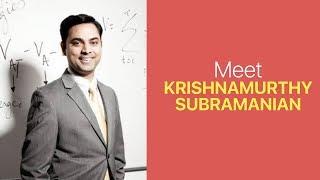 Who is Krishnamurthy Subramanian, India's New Chief Economic Adviser (CEA)?