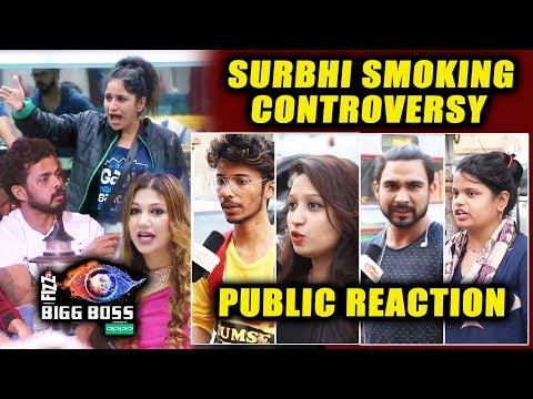 Surbhi Rana SMOKING Controversy | Surbhi Vs Whole House | PUBLIC REACTION | Bigg Boss 12