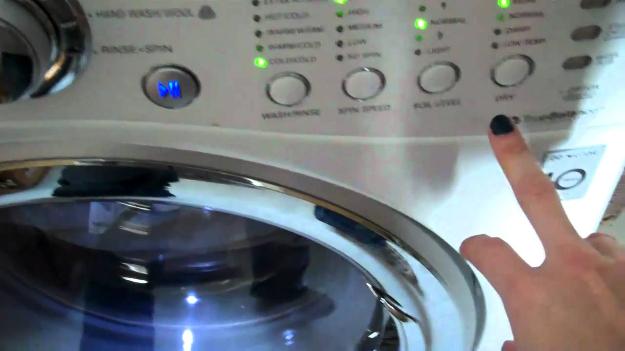 Washer And Dryer In One Part - 21: Buy The LG All In One Washer/dryer Http://confessionsofanover-workedmom.com  - YouTube