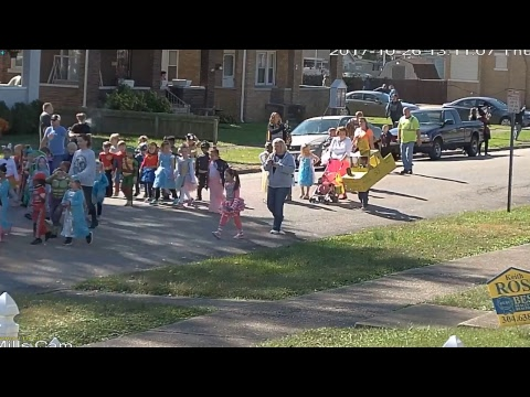 Central City Elementary Halloween Parade 2017