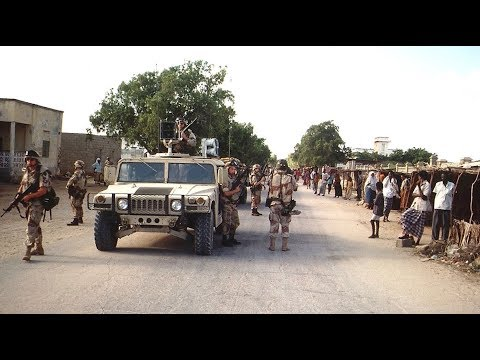 U.S. departs Somalia after the Battle of Mogadishu - 3/25/1994