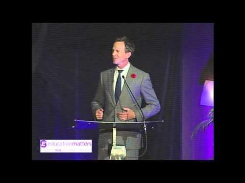 George Gosbee Accepts 2012 Calgary Board of Education Distinguished Alumni Award