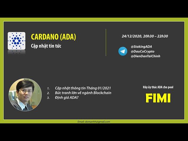 Cập nhật thông tin dự án Cardano (ADA) tháng 01/2021
