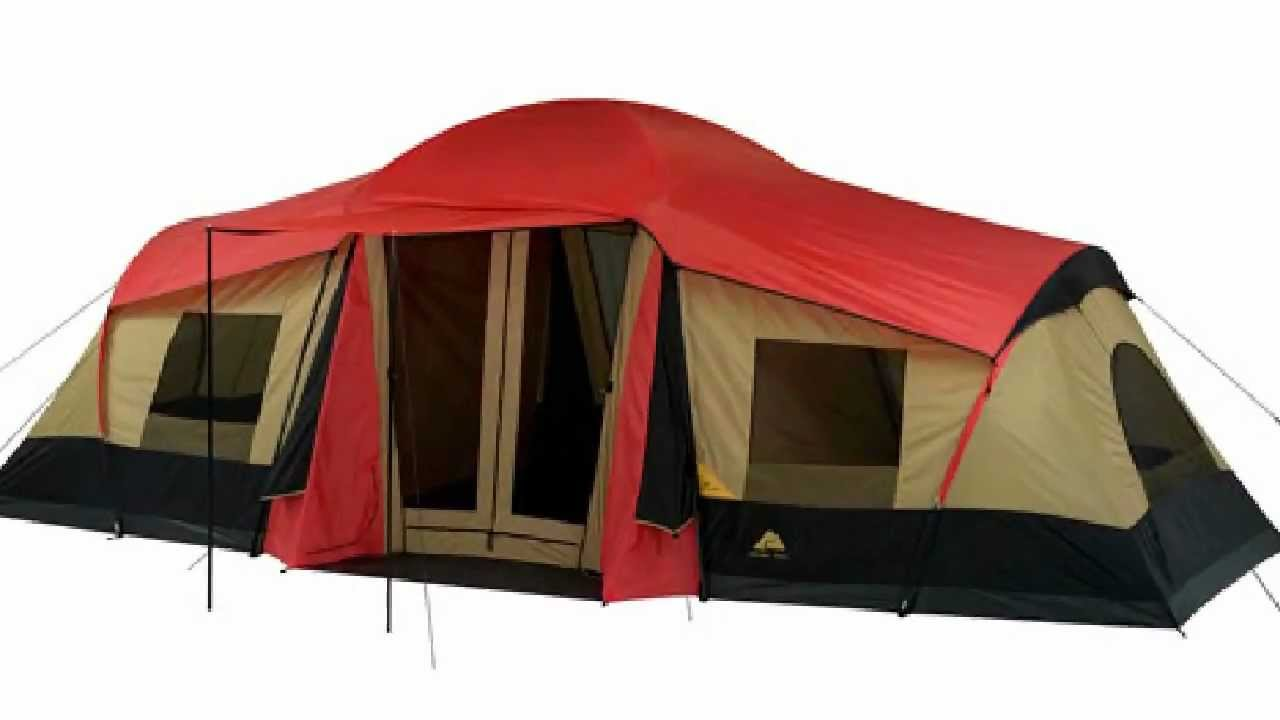 sc 1 st  YouTube : ozark trail 3 room dome tent - memphite.com