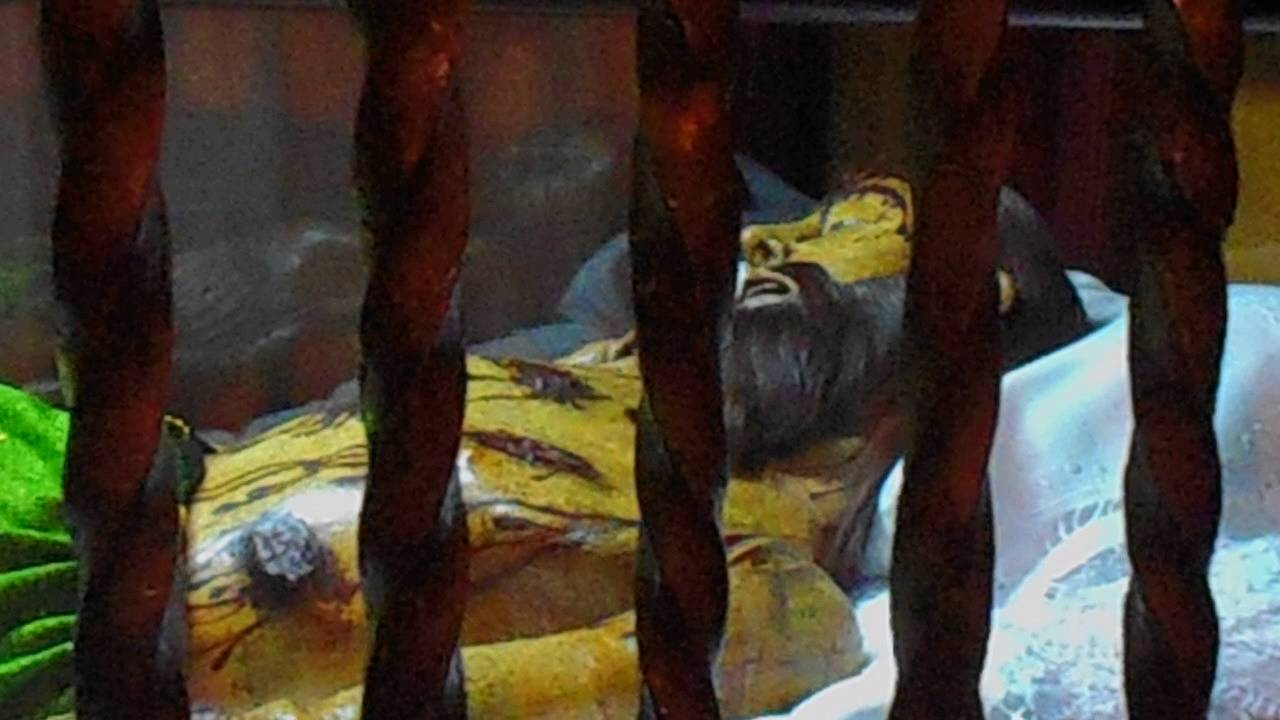 Cristo De Las Claras En El Monasterio De Las Claras De Palencia