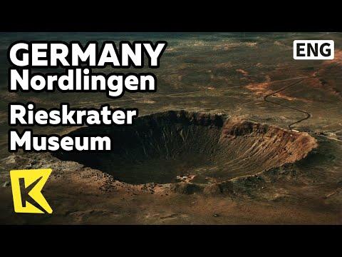 【K】Germany Travel-Nordlingen[독일 여행-뇌르틀링겐]운석이 만든 도시, 운석 박물관/Rieskrater Museum