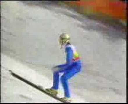 1988 Olympics Large Hill - Matti Nykänen