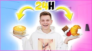 JEM TYLKO EMOJI PRZEZ 24H CHALLENGE! | Dominik Rupiński
