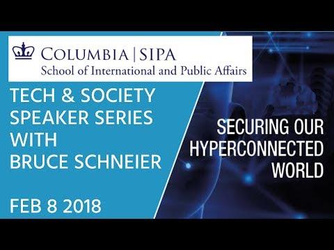 SIPA Tech & Society - Bruce Schneier