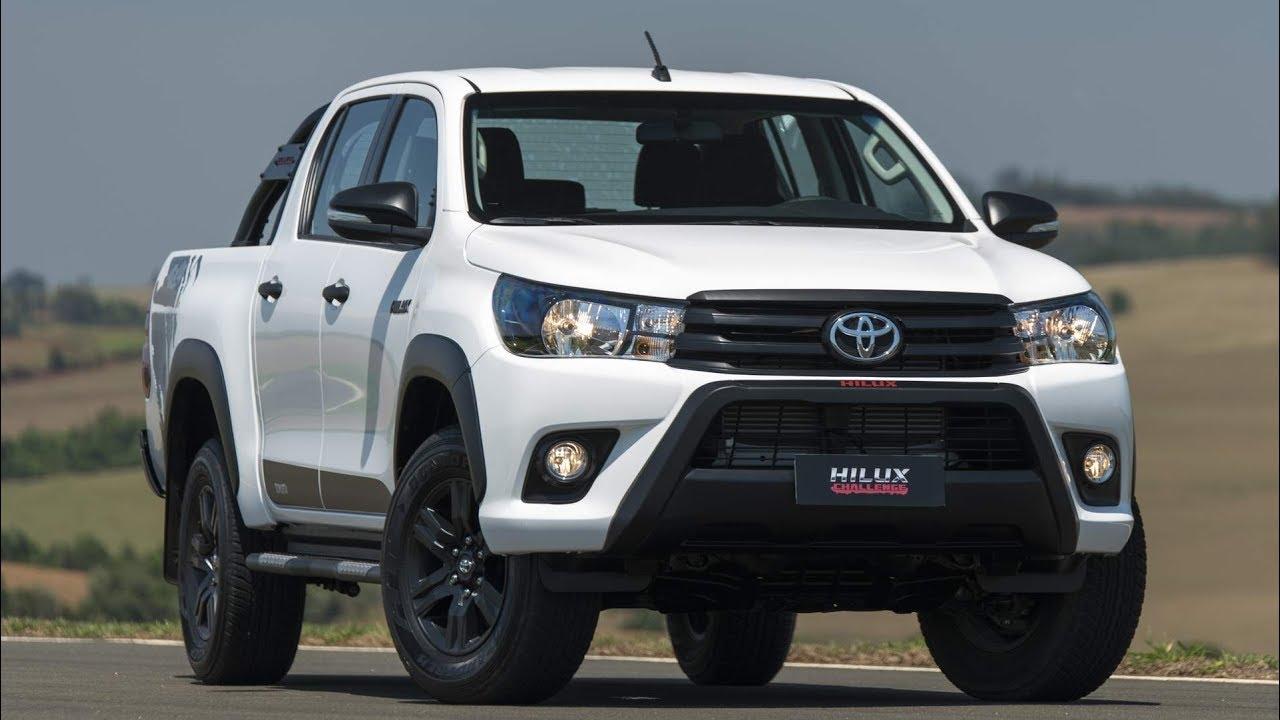 Toyota Hilux 2018 SR Challenge: Detalhes E Especificações