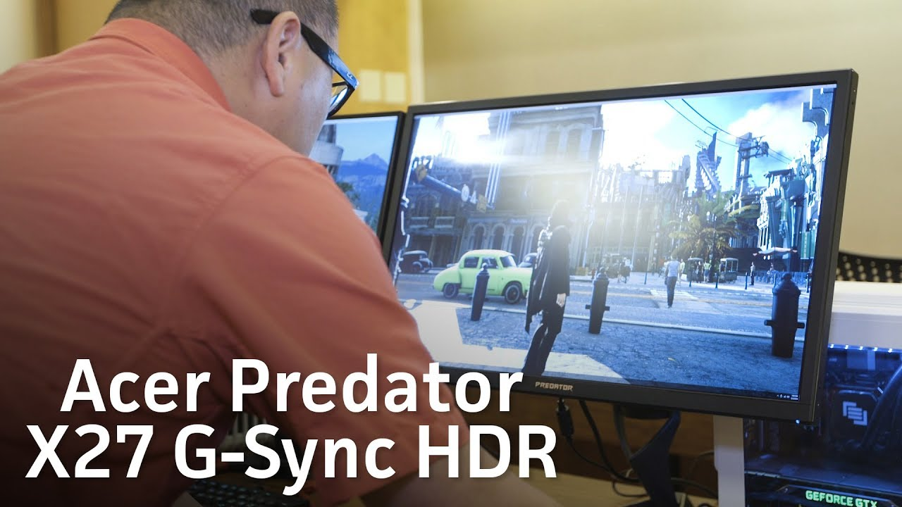 G-Sync HDR monitors to release
