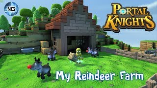 My Reindeer Farm - Portal knights