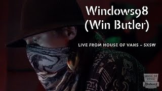 DJ Windows98 (Win Butler) performs at SXSW