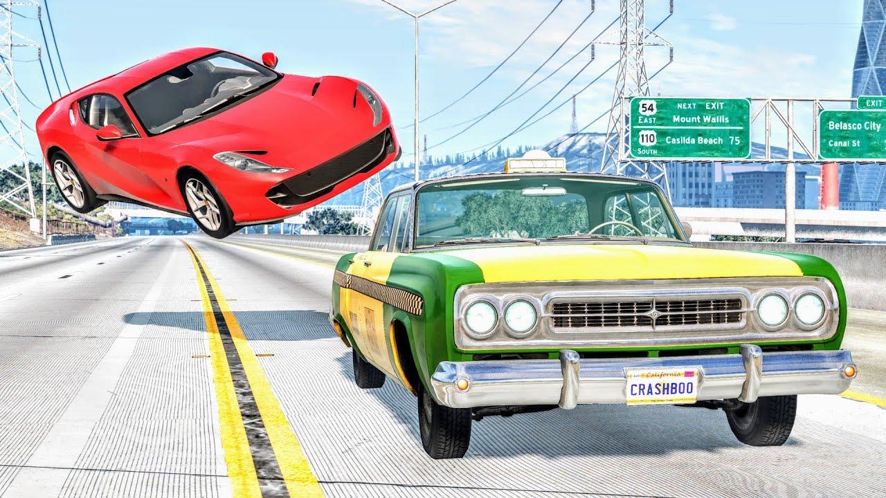 Loss of Control Crashes #49 – BeamNG Drive | CrashBoomPunk