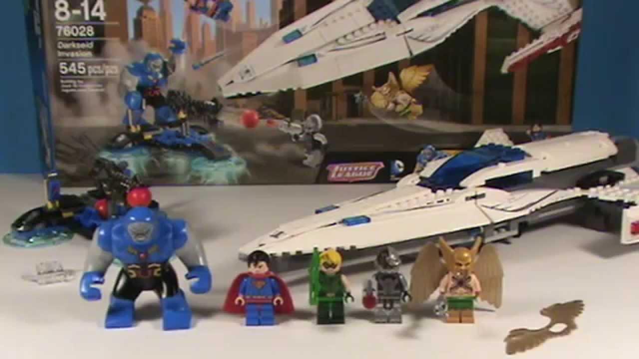 LEGO DC Superheroes Set: 76028 - Darkseid Invasion ...