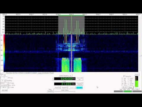 Shortwave Radio - HM01 Cuban Numbers Station 9240Khz