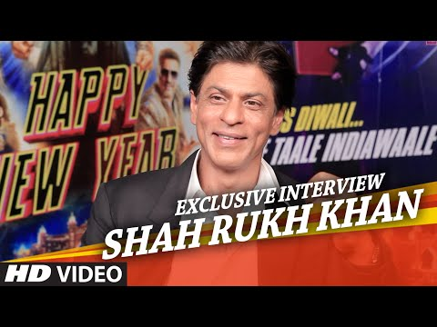 Exclusive: Shah Rukh Khan Interview   Happy New Year
