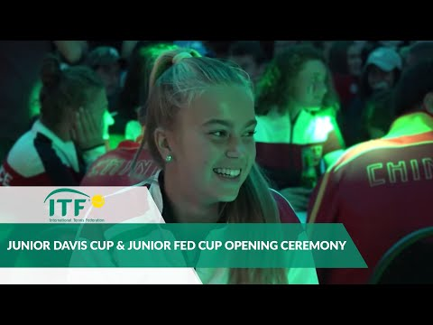 Junior Davis Cup and Junior Fed Cup Finals - Opening Ceremony