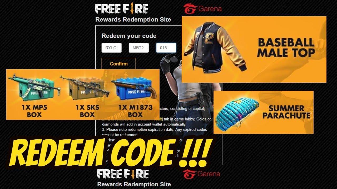 Cara Mendapatkan REDEEM CODE - FREE FIRE INDONESIA - YouTube
