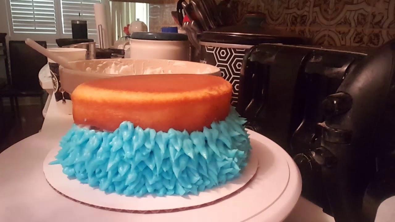 how to make a smash cake youtube
