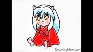 How to Draw Chibi Inuyasha