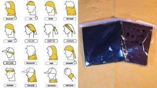 Бафф (Buff) - головной убор, который можно носить как шарф, шапку, маску, напульсник . . .