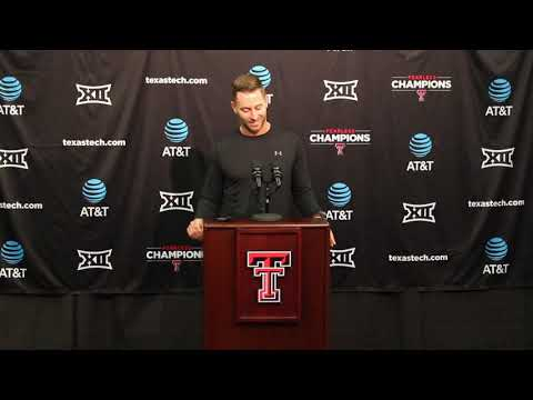 Kliff Kingsbury Reacts to Tommy Tuberville Calling Texas Tech-Houston Game