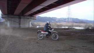オフロードバイク物語 練習編1 ターン練習① DT50