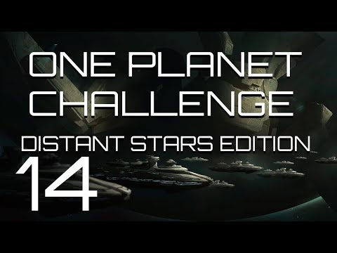 Stellaris - Distant Stars One Planet Challenge - Episode 14-  Point Defence is a good idea