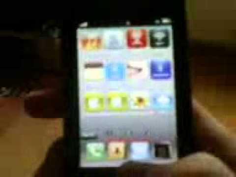 Samsung s5620 Monte iPhone Mod