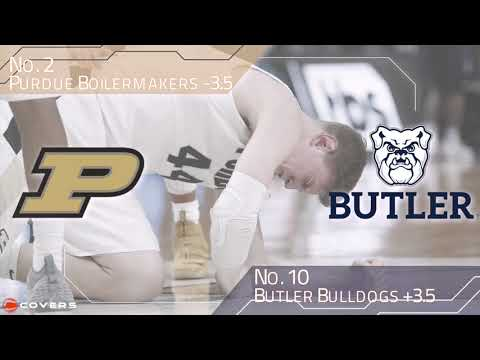 March Madness Betting Breakdown: No. 2 Purdue vs. No. 10 Butler
