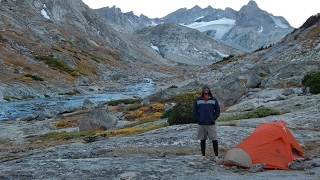 Backpacking Wyoming's Wind River Range: 9 Day Knapsack Col, Titcomb Basin, Bloody Hell Route