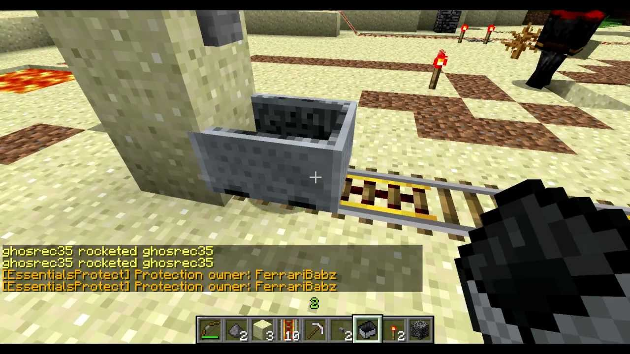 Minecraft - Crappycoaster - First Person HD