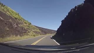 Hawaii Volcanoes National Park - Driving through Hawaii Volcanoes National Park (2018)