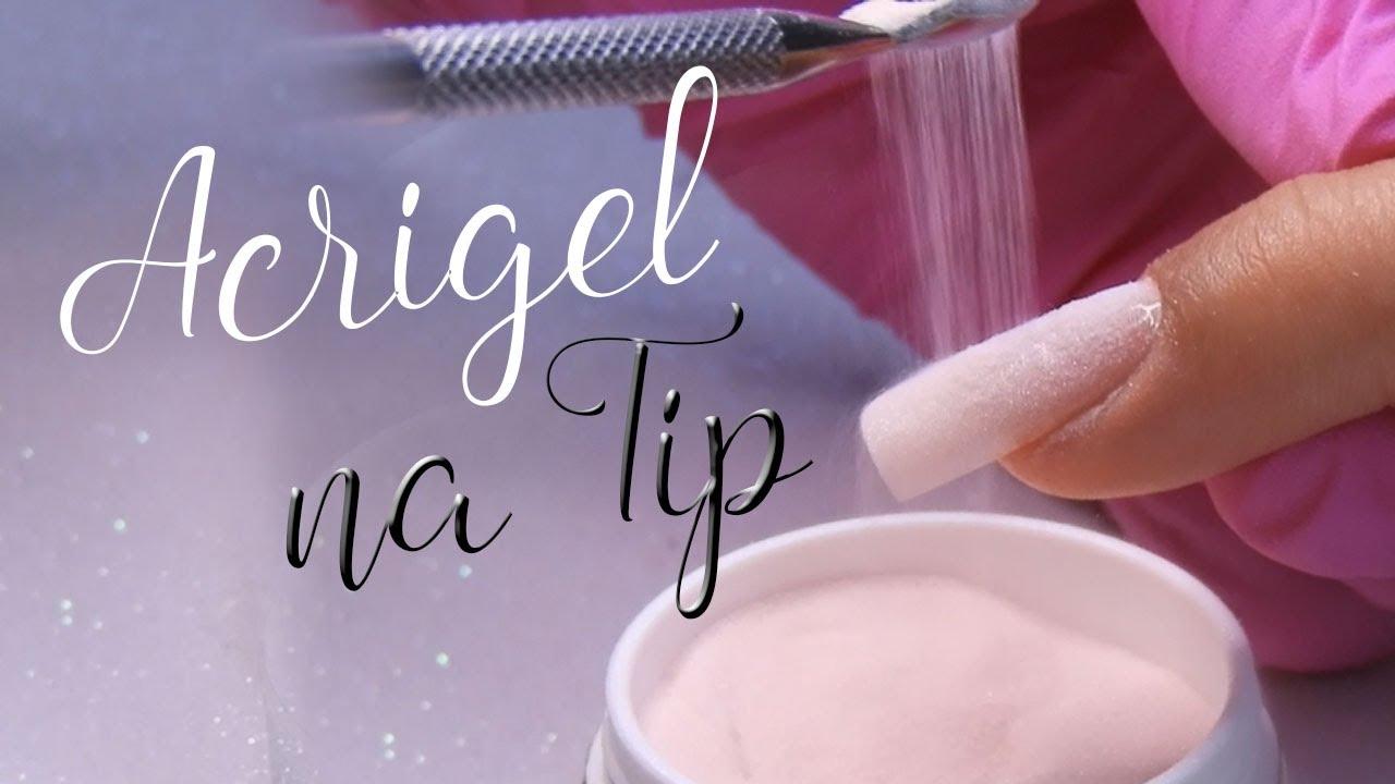 Download Unha De Acrigel Com Tip (Passo a Passo)