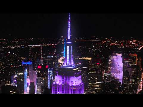 Grateful Dead – Empire State Building Light Show