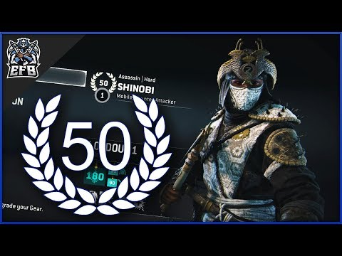 For Honor - REPUTATION 50 SHINOBI DUELS!!