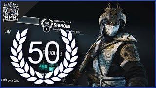 For Honor - REPUTATION 50 SHINOBI DUELS!!