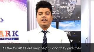 Skylark Institute of Travel   Saksham Shares His Experience