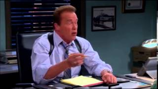 two and a half men last ever episode - arnold schwarzenegger scene
