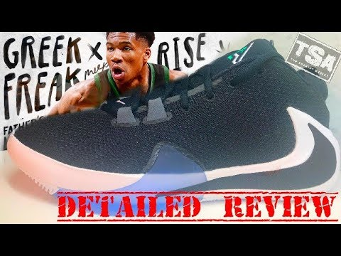 nike-freak-1-giannis-antetokoumpo-signature-shoe-detailed-look-review-#greekfreak-greak-freak-#nba
