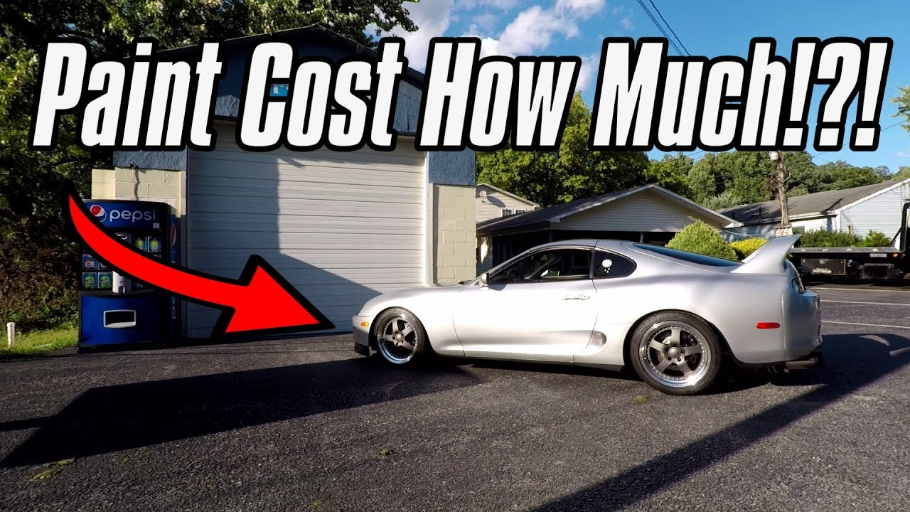 How Much Does Paint Cost >> How Much Does It Cost To Paint A Toyota Supra