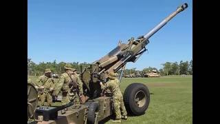 M198 Howitzer Gun Crew