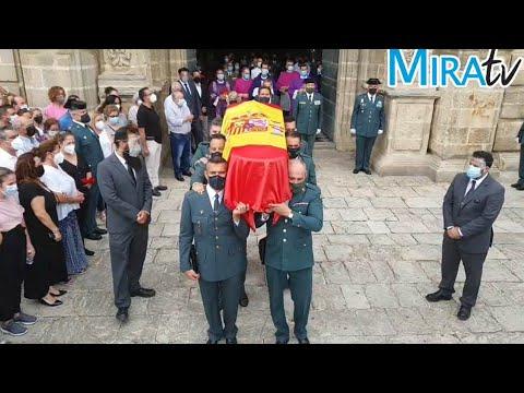Despedida en la Catedral de Jerez al Guardia Civil Agustín Cárdenas