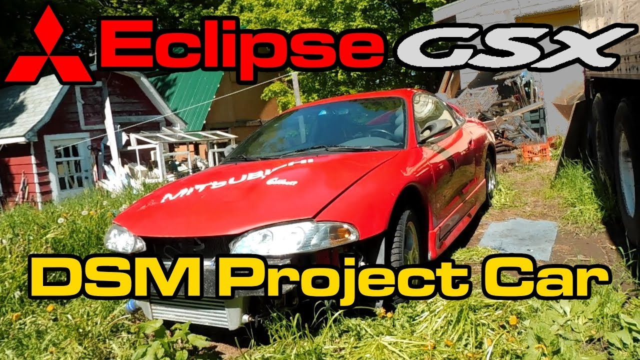mitsubishi eclipse gsx project car 4g63 turbo awd 2g dsm youtube. Black Bedroom Furniture Sets. Home Design Ideas