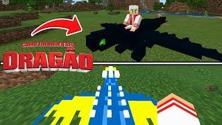 SAIU!!! NOVO ADDON DE COMO TREINAR O SEU DRAGÃO NO MINECRAFT PE ! (Minecraft Pocket Edition)