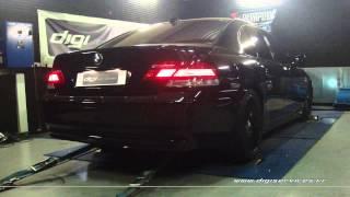 Reprogrammation Moteur BMW 745d 330cv @ 343cv Digiservices Paris 77183 Dyno