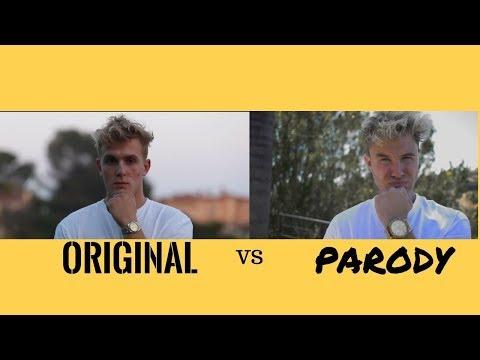 Jake Paul - Its Everyday Bro ft. Bart Baker ( Original VS Parody)