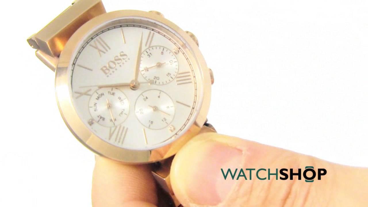8eba2927134d Hugo Boss Ladies  Classic Sport Watch (1502399) - YouTube