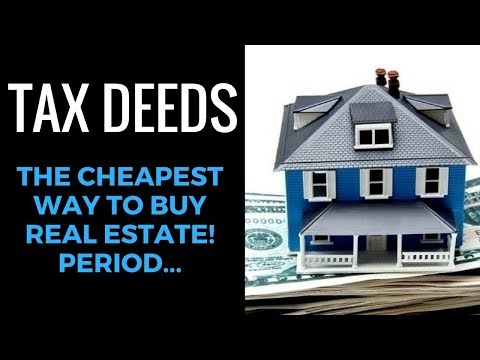 Tax Deeds: The Cheapest Way to Buy Real Estate at 70%-90% OFF!